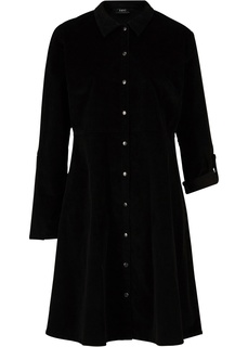 Платье из вельвета Bonprix