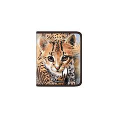 Папка для тетрадей на молнии пластиковая Erich Krause Wild Cat, A5+