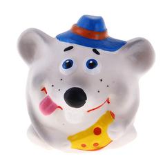 Игрушка для ванны Кудесники Крысенок-мяч 8 см
