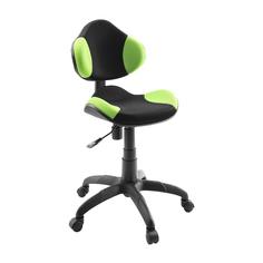 Кресло компьютерное Dikline Лоджи сетка зеленая/черная