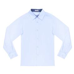 Сорочка для мальчиков КАРАМЕЛЛИ О14311 голубая 134