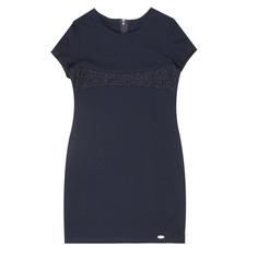 Платье школьное КАРАМЕЛЛИ О73639 синее 122