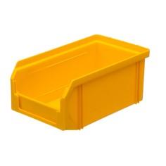Пластиковый ящик Стелла v-1 (1 литр), желтый Stella