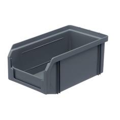 Пластиковый ящик Стелла v-1 (1 литр), серый Stella