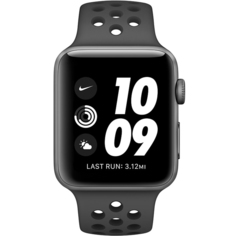 Смарт-часы Apple Watch Nike Series 3 MTF12RU Space Grey
