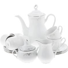 Сервиз кофейный Thun 1794 6 персон 17 предметов Constance