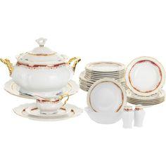 Сервиз столовый Thun 1794 6 персон 27 предметов Marie Louise