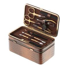 Набор маникюрный Zinger ms-801 case