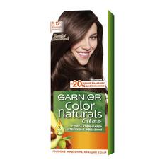 Стойкая крем-краска Garnier Color Naturals с 3 маслами 5.12 Ледяной светлый шатен (C6411700)