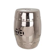 Табурет серебряный Bizzotto furniture д33х46см