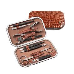 Маникюрный набор Zinger MS-101 коричневый