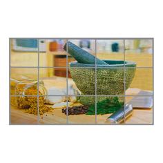Стикер защитный на кафель Marmiton Ступка для специй 45x75 см