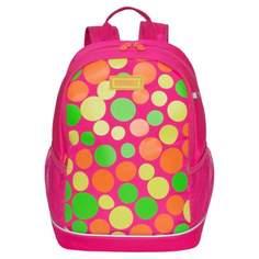 Рюкзак школьный Grizzly ярко-розовый
