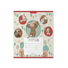 Тетрадь ErichKrause Little Dogs, 12 листов, линейка