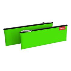 Пенал конверт Erich Krause 220х90 мм Neon Green
