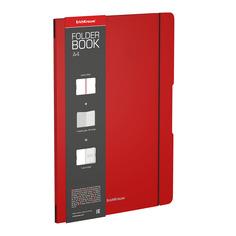 Тетрадь общая Erich Krause FolderBook Classic красный А4 48 листов клетка