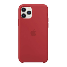 Чехол для смартфона Apple iPhone 11 Pro Silicone Case, красный