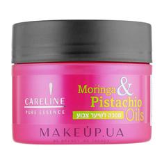 Маска для окрашенных волос Моринга и Фисташковое масло Careline Pure Essence 300 мл