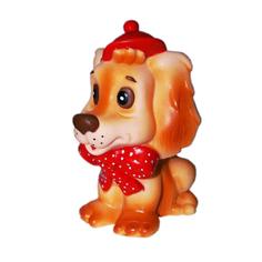 Игрушка для ванны Кудесники Собачка Каштанка 15 см