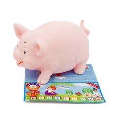 Игрушка для ванны Кудесники Свинка 12 см