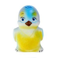 Игрушка для ванны Кудесники Синичка 10,5 см