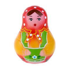 Игрушка для ванны Кудесники Матрешка 9 см