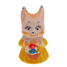 Игрушка для ванны Кудесники Белочка с подарком 11 см