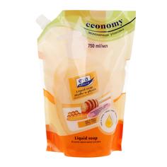 Жидкое крем-мыло для рук Eva Natura Молоко и Мёд 750 мл