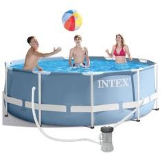 Каркасный бассейн Intex prism frame 5132179 305х99см (набор)