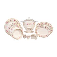 Сервиз столово-чайный Kutahya porselen Kalipso 80 предметов декор 25136