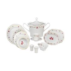 Набор столово-чайный Kutahya porselen Lindos 80 предметов декор 8576