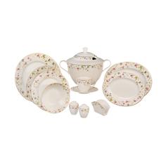 Сервиз столово-чайный Kutahya porselen Kalipso 80 предметов декор 25133