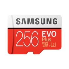 Карта памяти Samsung MicroSD 256GB Class 10 EVO Plus (MB-MC256HA/RU)