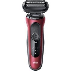 Электробритва мужская Braun Series 6 60-R1000s Red