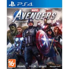 Мстители Marvel PS4, русская версия Sony