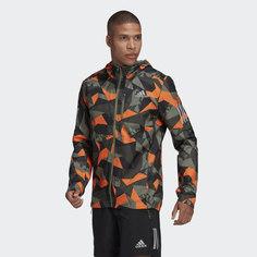 Куртка для бега Own the Run Camo adidas Performance
