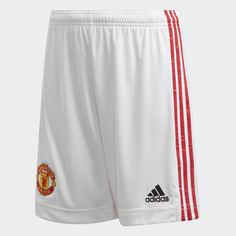 Домашние игровые шорты Манчестер Юнайтед 20/21 adidas Performance