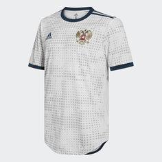 Гостевая игровая футболка сборной России adidas Performance