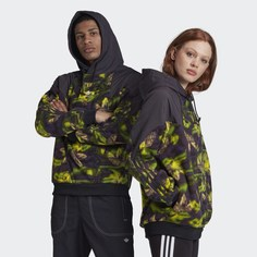 Флисовая худи Big Trefoil adidas Originals