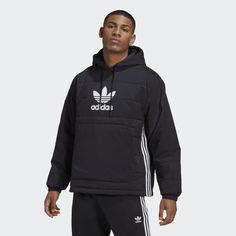 Утепленная куртка-анорак Trefoil adidas Originals