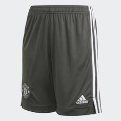 Гостевые игровые шорты Манчестер Юнайтед adidas Performance