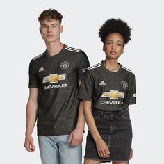 Гостевая игровая футболка Манчестер Юнайтед 20/21 adidas Performance