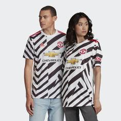 Третья игровая футболка Манчестер Юнайтед 20/21 adidas Performance