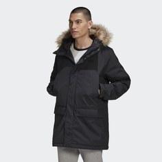 Удлиненная парка Fur adidas Originals