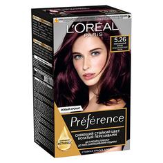 Краска для волос LOREAL PREFERENCE тон 5.26 Изысканный бордо L'Oreal