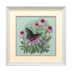 """Набор для вышивания Dimensions """"Бабочка и ромашки"""""""