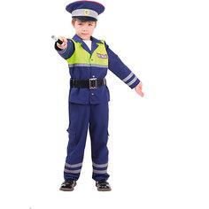 Карнавальный костюм Батик, Инспектор ДПС Пуговка
