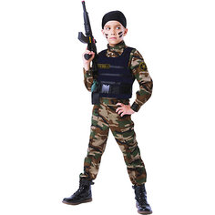 Карнавальный костюм Батик, Спецназ Пуговка