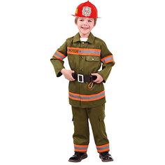 Карнавальный костюм Батик, Пожарный Пуговка