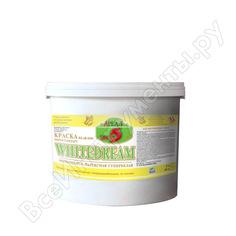Супербелая краска для стен и потолков ареал+ whitedream 5 звезд вд-ак 0204 ведро 10 л а-051